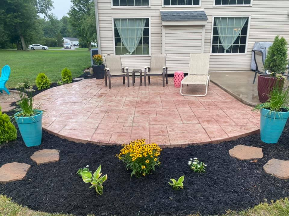 stamped concrete pittsburgh