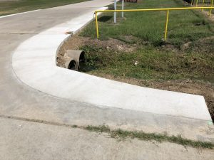 Commercial Curbing